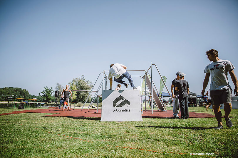 Freerunning Parcours Planksee
